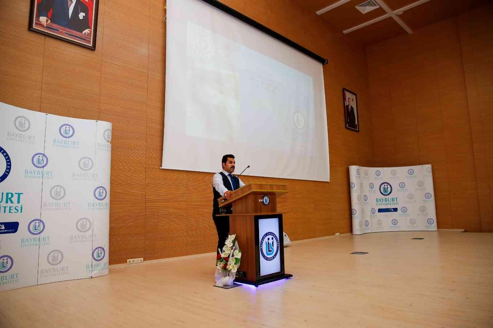 Bayburt Üniversitesinde TÜBİTAK Destek Programları bilgilendirme toplantıları yapıldı #bayburt