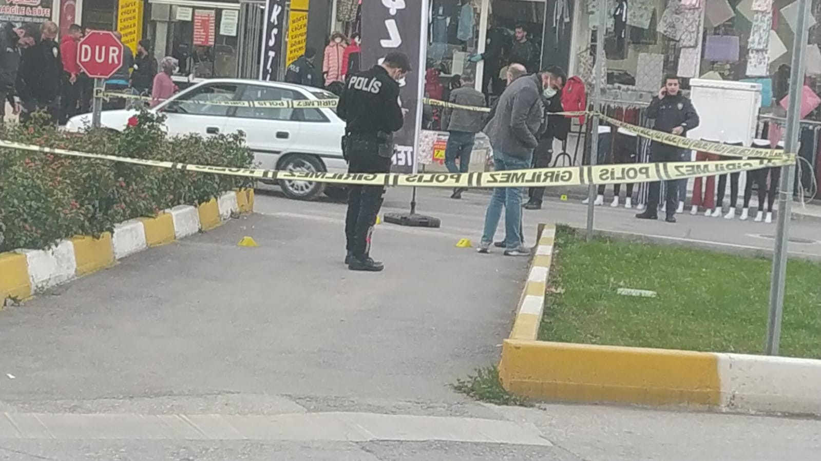 Cadde ortasında silahlı kavga: 1 yaralı, 4 gözaltı #corum