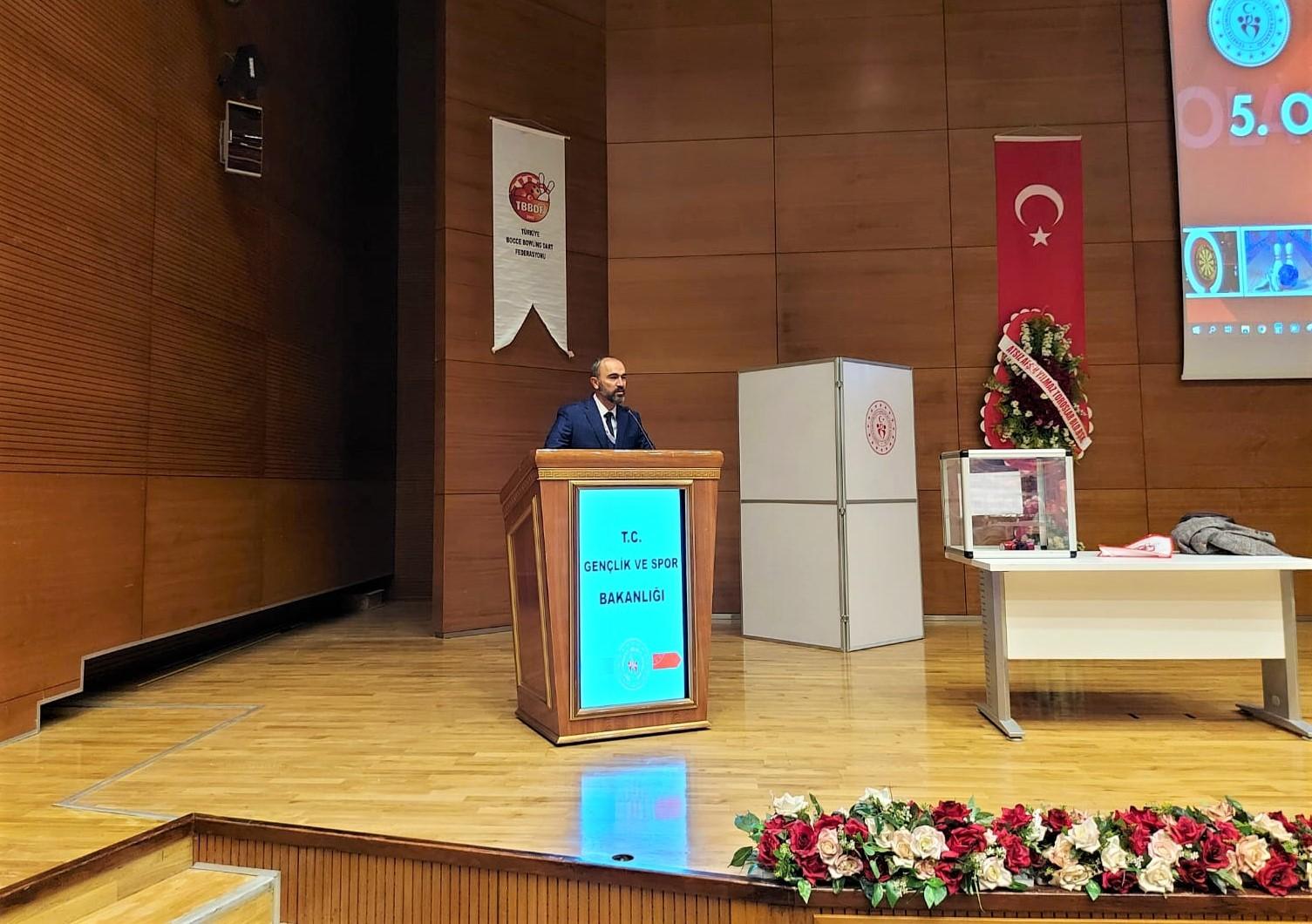 Rektör Türkmen, Bocce, Bowling ve Dart Federasyonu Başkanlığına yeniden seçildi #bayburt