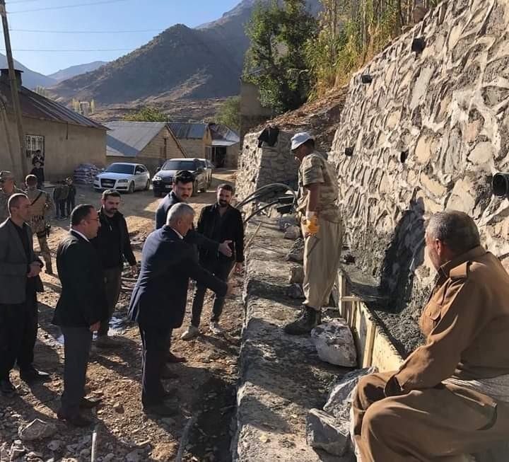 Çukurca Kaymakamlığının projeleri köy halkını sevindiriyor #hakkari