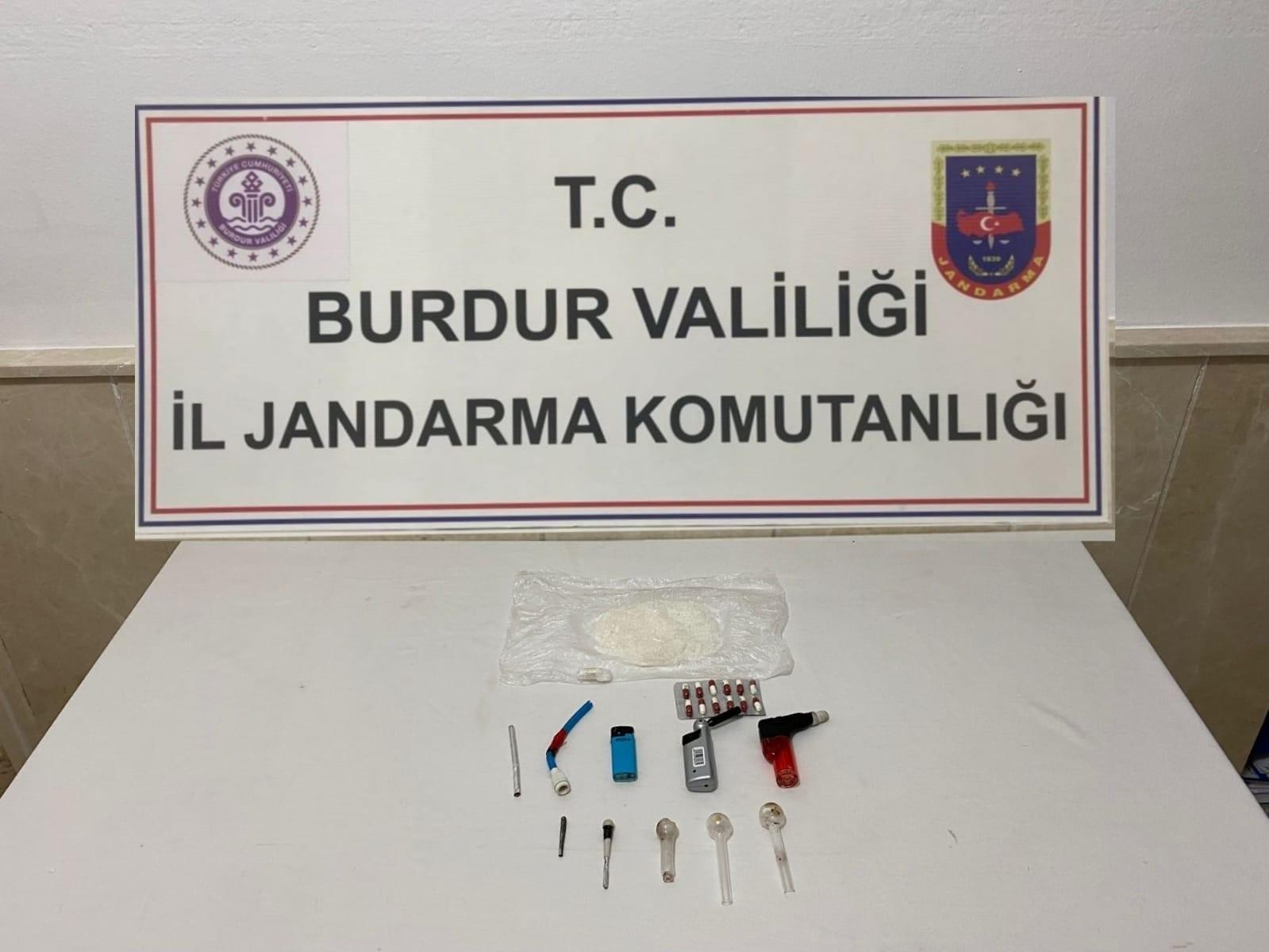 Burdur'da uyuşturucu operasyonu #burdur