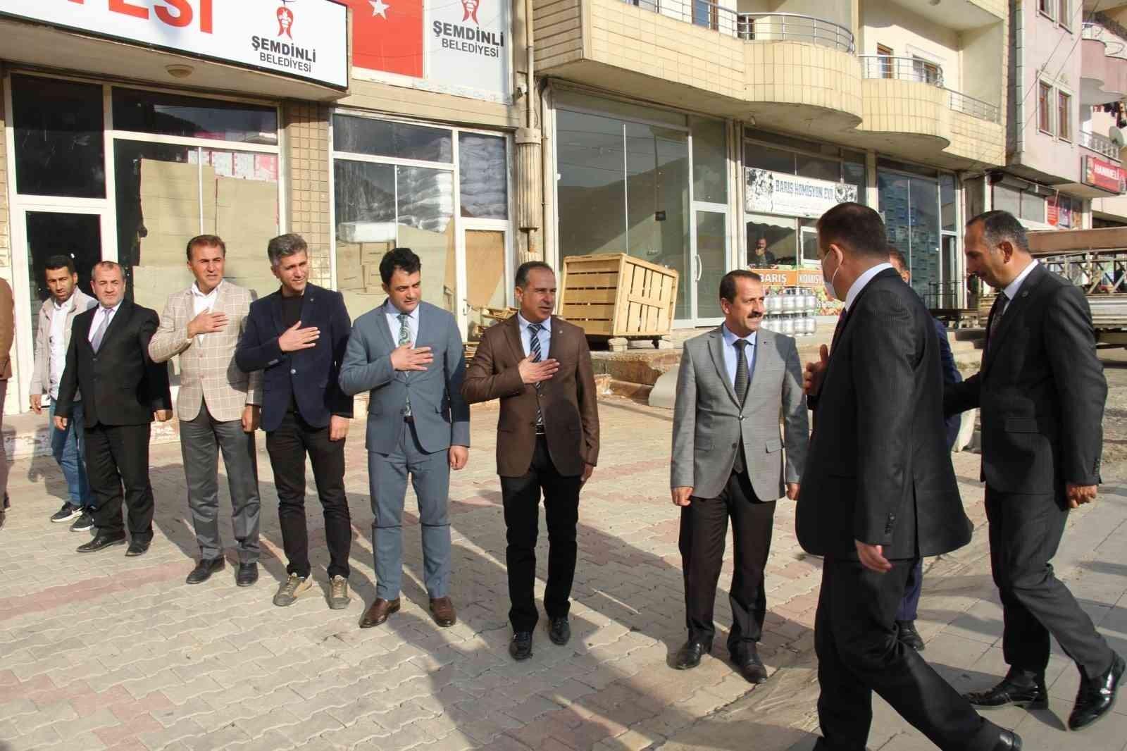Vali Akbıyık'tan Şemdinli'ye ziyaret #hakkari
