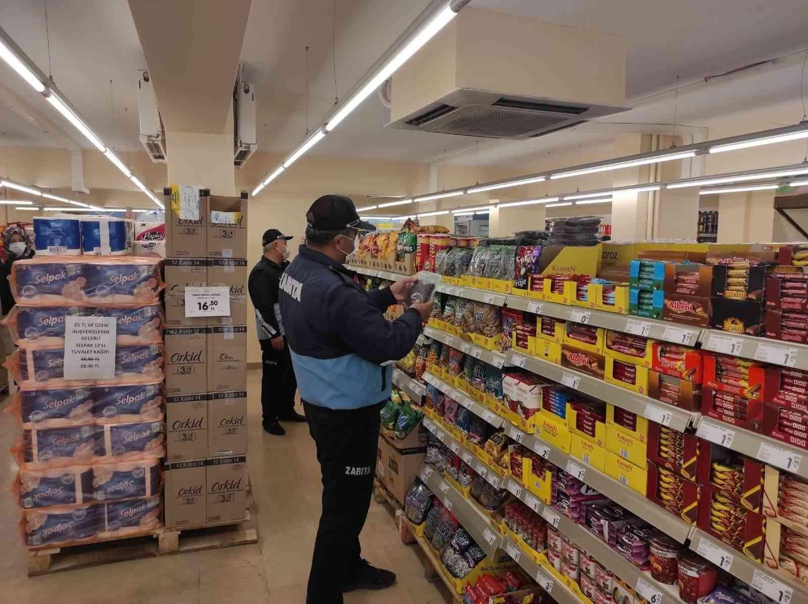 Sungurlu'da marketler denetlendi #corum