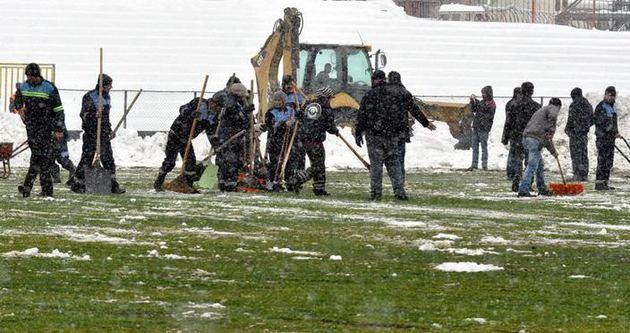 Eskişehirspor - Balçova maçı ertelendi