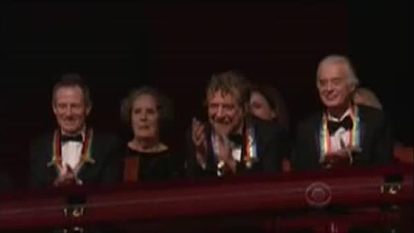 Efsaneler Obama çiftiyle Stairway To Heaven izledi