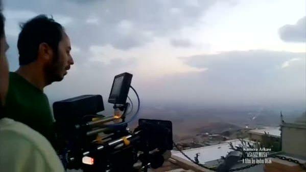 Asasız Musa kamera arkası görüntüleri