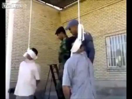 İdam mahkumu can çekişirken affedildi