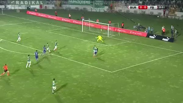 Bursaspor 0 - Fenerbahçe 1