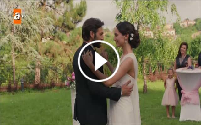 Ali ve Begüm'ün düğün dansı