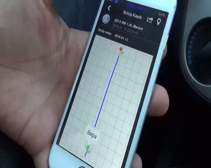 Hoterwatch yazılım programı, cep telefonundan yer tespit etmek için yaratılmıştır