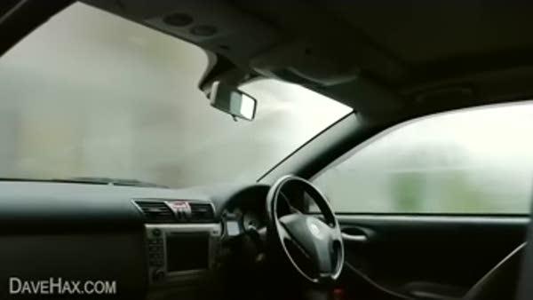 Araba camlarının buğulanmasını önleme yöntemi...