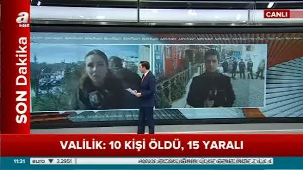 Valilik: 10 kişi öldü, 15 yaralı