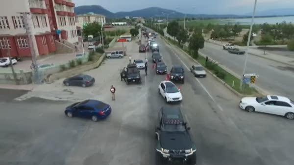 Off-Road şenliğinde araçlar nefes kesti!