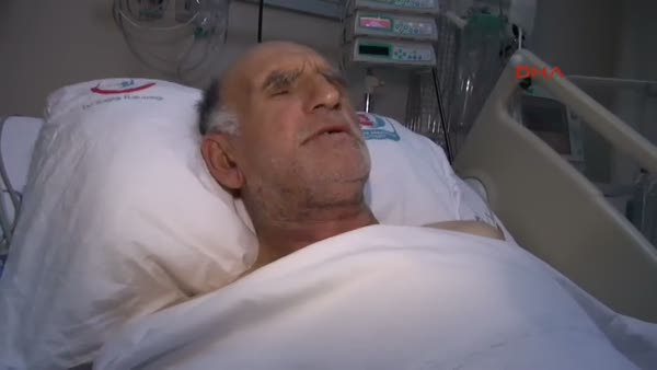 40 kez kalbi duran adam yoğun bakımda türkü söyledi