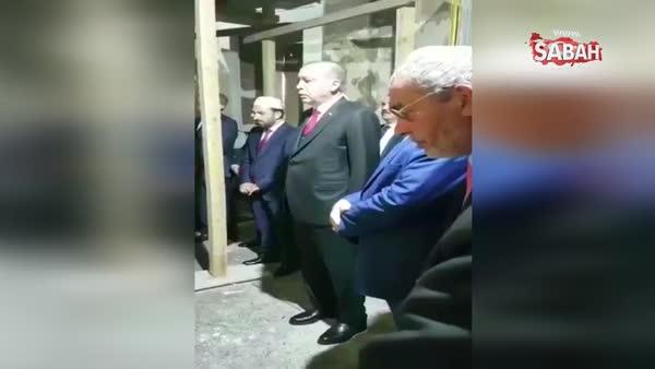 Cumhurbaşkanı Erdoğan, Fatih Sultan Mehmet'in kabrinde Kur'an okudu