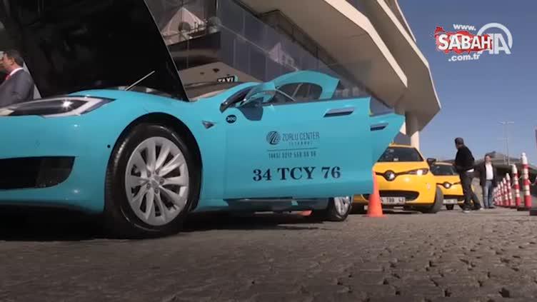 Turkuaz taksi, İstanbul yollarında