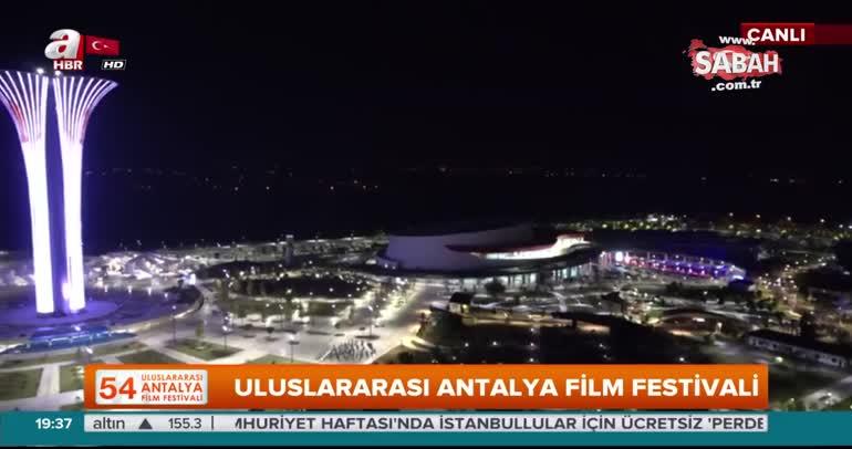 Antalya Film Festivali'nde Hollywood yıldızından tarihi çıkış!