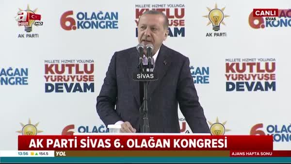 Cumhurbaşkanı Erdoğan Sivas'ta önemli açıklamalarda bulundu