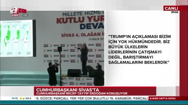 Cumhurbaşkanı Erdoğan: İsrail terör devletidir!