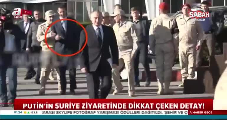 Rus general Esad'ın Putin'e yaklaşmasına izin vermedi!