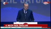 Cumhurbaşkanı Erdoğan İstanbul'da konuştu...