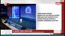 Cumhurbaşkanı Recep Tayyip Erdoğan'dan anlamlı şiir...