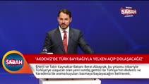Albayrak: Akdeniz'de Türk bayrağıyla yelken açıp dolaşacağız
