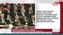 Cumhurbaşkanı Erdoğan, Konya'da Şeb-i Arus töreninde konuştu...