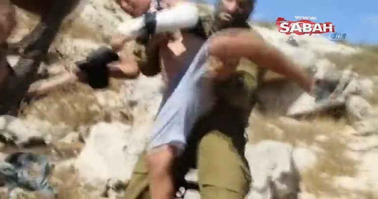 İsrail askerine meydan okuyan Filistinli kız gözaltında