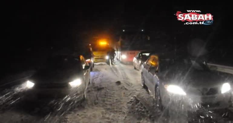 Marmara Bölgesi'nde yoğun kar yağışı