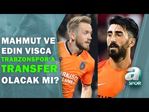Mahmut Tekdemir Ve Edin Visca Trabzonspor'a Gelecek Mi?  / Spor Ajansı