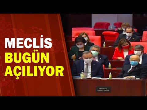 Meclis'te Grup Toplantıları Var