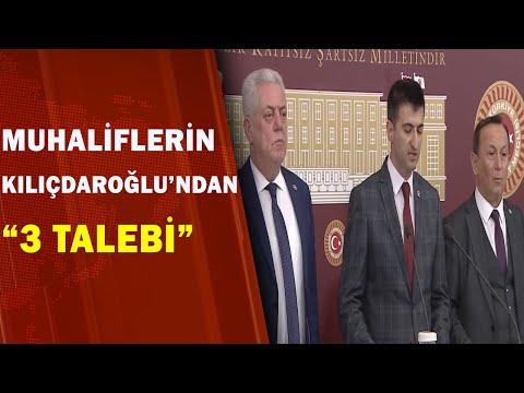 CHP'de Muhaliflerin 3 Talebi