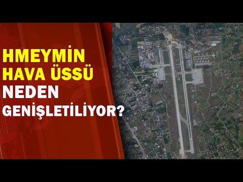 Rusya'dan Suriye'de Hava Üssü Hamlesi
