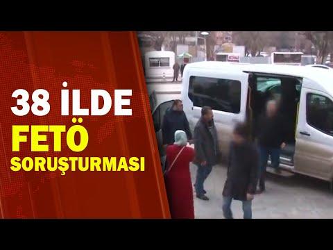 FETÖ'nün Askeri Mahrem Yapılmasına Yönelik 54 Gözaltı Kararı