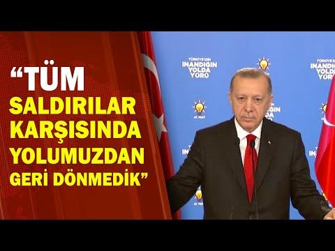 Başkan Erdoğan: CHP Tek Adamcağız Siyasetine Mahkum Edildi