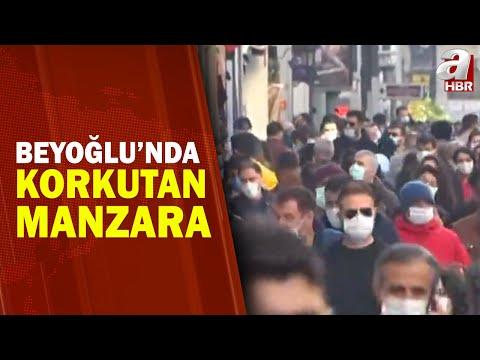 İstiklal Caddesi'nde Maske, Mesafe ve Temizliğe Uyuluyor mu?