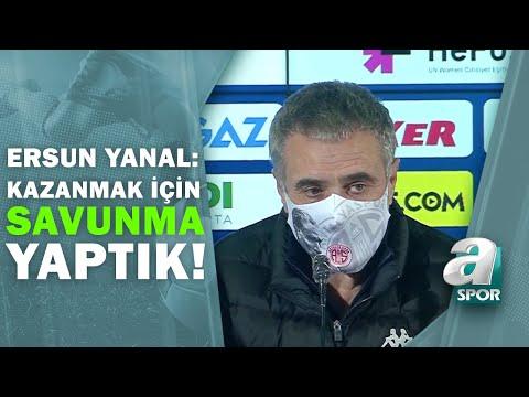 Fenerbahçe 1 - Antalyaspor Ersun Yanal Maç Sonu Basın Toplantısı Düzenledi