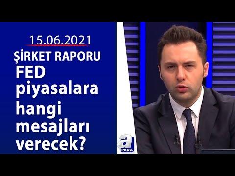 Merkez Bankası'nın faiz kararı ne olacak?  / Şirket Raporu / 15.06.2021 /