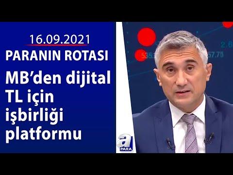 Merkez bankalarının dijital para ilgisi  / Paranın Rotası / 16.09.2021